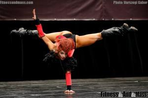 IFBB World Fitness Championships Asiya Gabidullina Fitness Routine