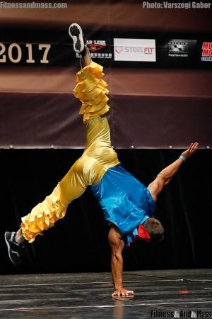 IFBB World Fitness Championships Evgeny Shobik Fitness Routine