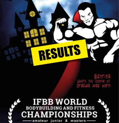 2017 IFBB Masters and Junior World Championships