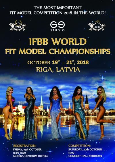 2018 IFBB World Fit Model Championships