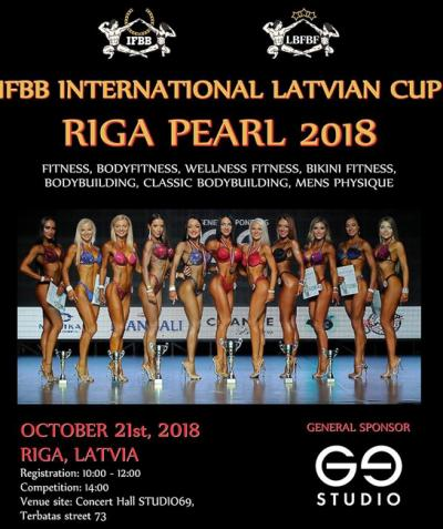 2018 IFBB International Latvian Cup Riga Pearl