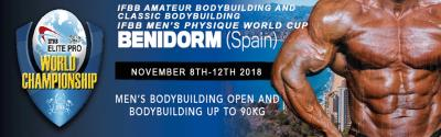 2018 Benidorm IFBB Men's World Championships