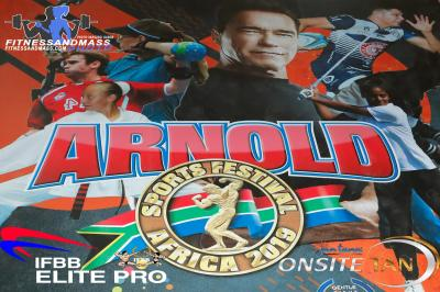 2019 Elite Pro Arnold Classic South Africa