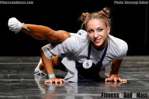 IFBB World Fitness Championships Evgenia Mishchenko Fitness Routine