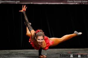 IFBB World Fitness Championships Kristina Juricova Fitness Routine
