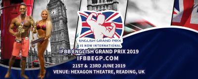 2019 IFBB ENGLISH GRAND PRIX INTERNATIONAL