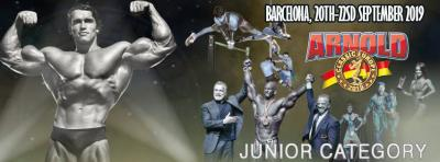 2019 Arnold Classic Europe Junior Category