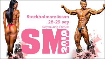 2019 Stockholmsmassan Bodybuilding & Fitness