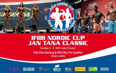 2019 IFBB Nordic cup & Jan Tana Classic